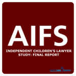 Independent Children's Lawyer Study: Final Report
