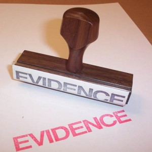 family law evidence