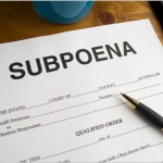 how to file a subpoena in the family court