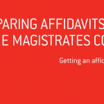 Preparing Affidavits for the Magistrates Court
