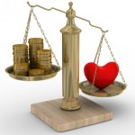 Heart-shape-and-money-on-scales-divorce