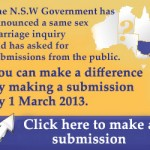 NSW Same Sex Marriage Inquiry