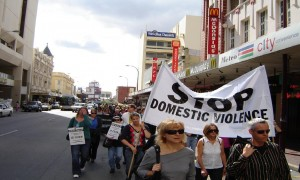 Silent Domestic Violence Memorial March