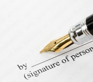 prenup-signing-document