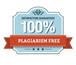 100% plagiarism Free badge