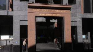 Family court building