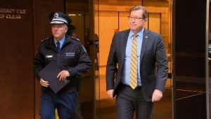 NSW Police Minister Troy Grant