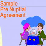Sample Pre Nuptial Agreement