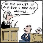 Judge slams old boy who sued mother over estate