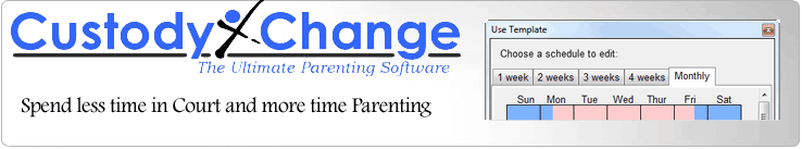 child custody software