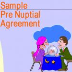 Sample Pre Nuptial Agreement