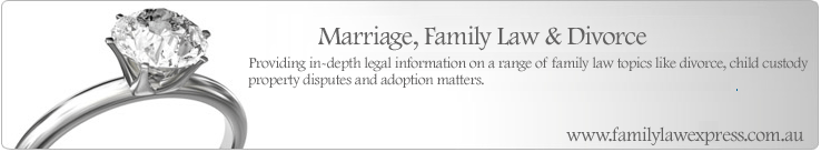 Marriage, Family Law & Divorce