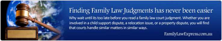 Finding Family Law Judgments has never been easier