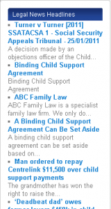 family law express headlines plugin widget display sample 3